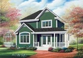 Plan Number 65181 - 1530 Square Feet