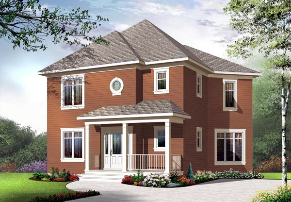 Country House Plan 65182 Elevation