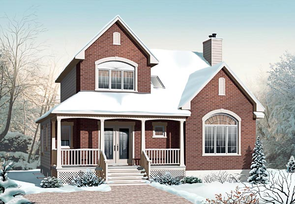 Country House Plan 65186 Elevation