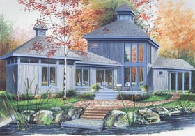 Contemporary, Craftsman House Plan 65188 with 2 Beds, 1 Baths Front Elevation