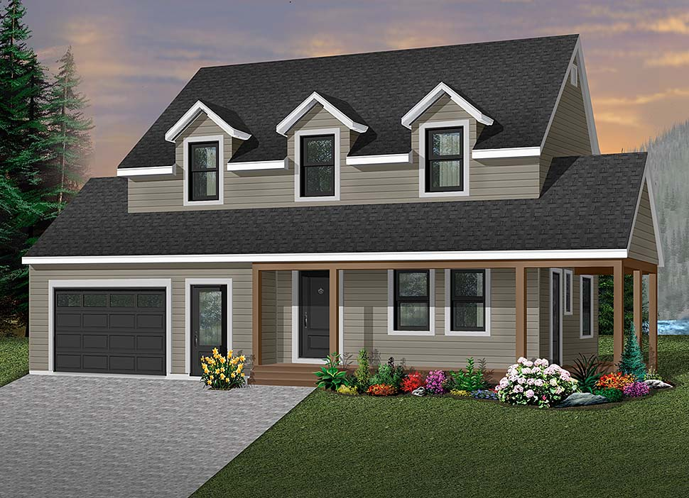 Country House Plan 65190 Elevation