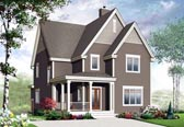 Plan Number 65191 - 2124 Square Feet