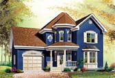 Plan Number 65204 - 1588 Square Feet