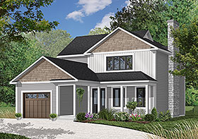 Country House Plan 65213 Elevation