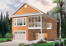 Traditional Garage Plan 65215 Elevation