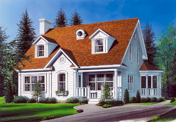 Traditional House Plan 65216 Elevation