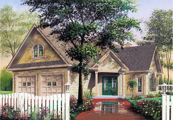 Traditional House Plan 65219 Elevation