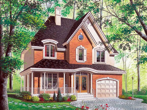 Country Victorian House Plan 65222 Elevation