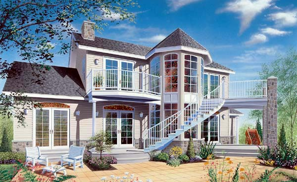 Southern Traditional House Plan 65225 Elevation