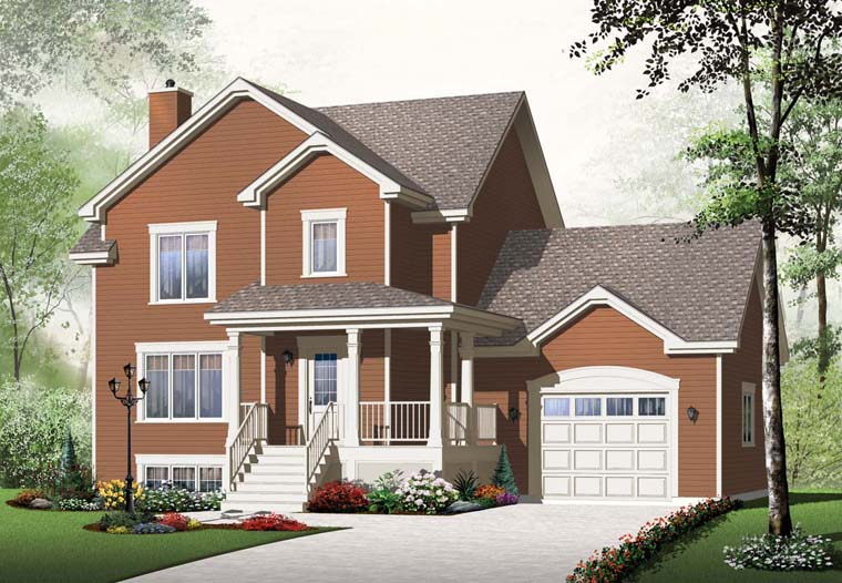 Country House Plan 65227 Elevation