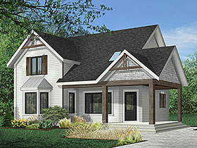 Country House Plan 65236 Elevation