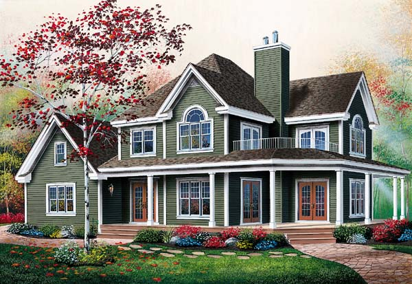 Country Traditional House Plan 65237 Elevation