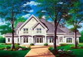Plan Number 65240 - 4204 Square Feet
