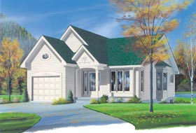 Bungalow Traditional House Plan 65241 Elevation
