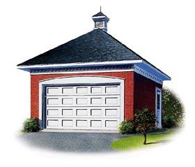 Garage Plan 65257