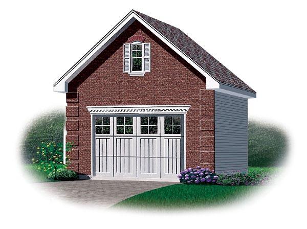 Garage Plan 65258 Elevation