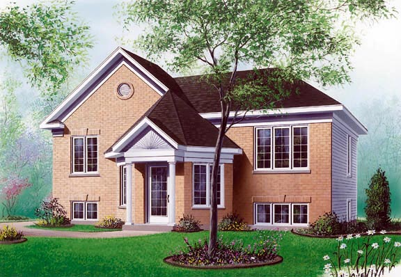 Traditional House Plan 65260 Elevation