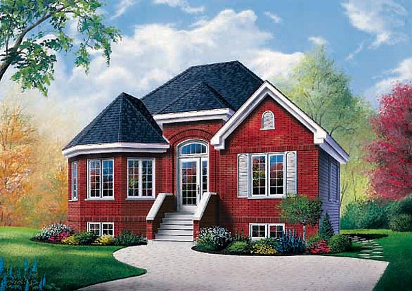 European Victorian House Plan 65261 Elevation