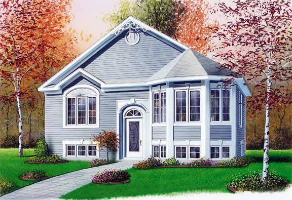 Victorian House Plan 65264 Elevation
