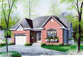 Traditional House Plan 65267 Elevation