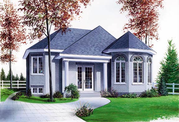 Victorian House Plan 65268 Elevation