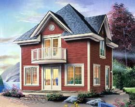 House Plan 65271 Elevation