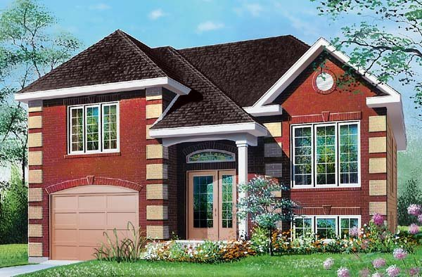 House Plan 65273 Elevation