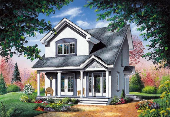 Contemporary House Plan 65286 Elevation
