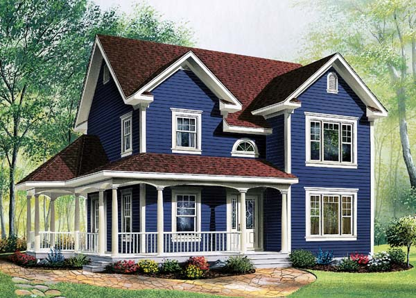 Country, Modern Farmhouse House Plan 65288 with -1 Beds , 2 Baths Elevation