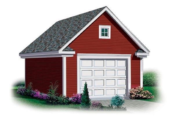 Garage Plan 65293 Elevation