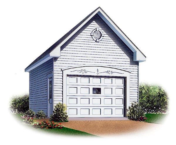 Garage Plan 65296