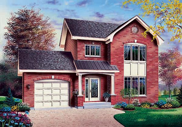 Traditional House Plan 65302 Elevation