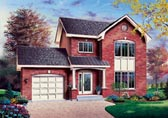 Plan Number 65302 - 1587 Square Feet