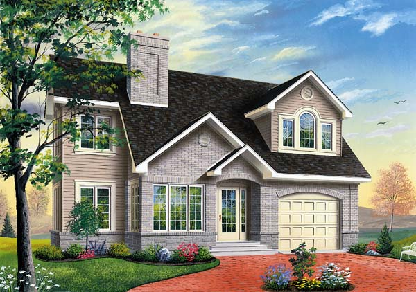 Traditional House Plan 65311 Elevation