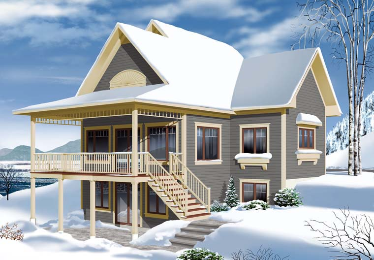 Cottage Country House Plan 65312 Rear Elevation