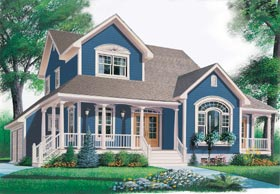 Country Farmhouse House Plan 65314 Elevation