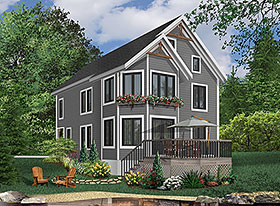 Southern Traditional House Plan 65318 Elevation