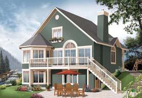 Cottage House Plan 65319 Elevation