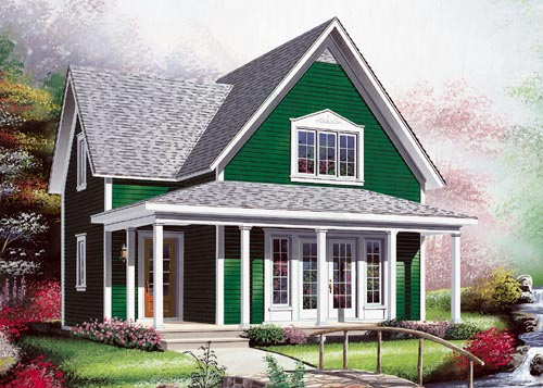 Country House Plan 65328 Elevation