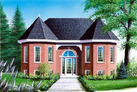 European Victorian House Plan 65329 Elevation