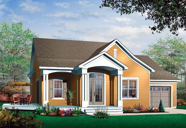 Traditional House Plan 65342 Elevation