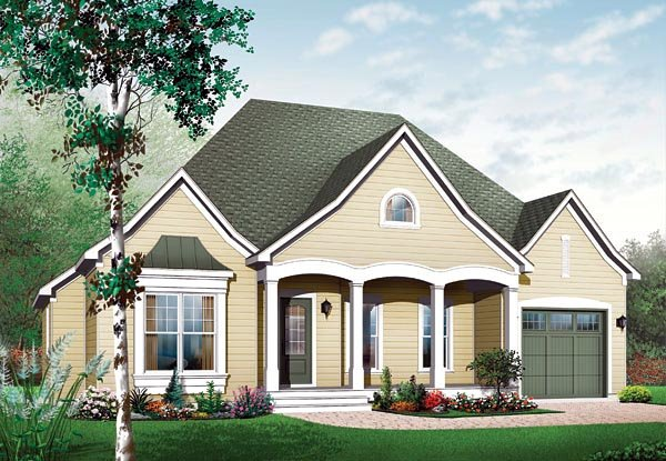 Traditional House Plan 65345 Elevation