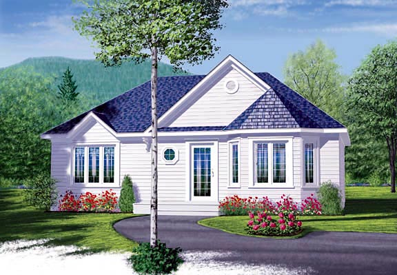 Traditional House Plan 65348 Elevation