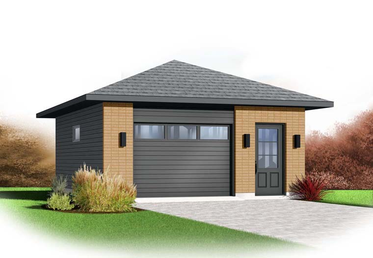 Garage Plan 65353