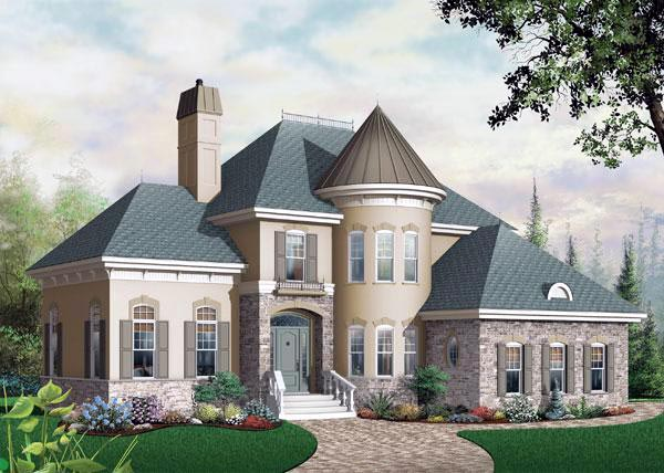 Victorian House Plan 65354 Elevation