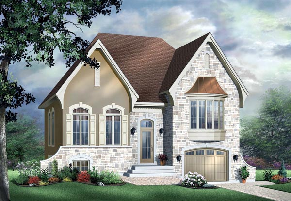 Victorian House Plan 65357 Elevation