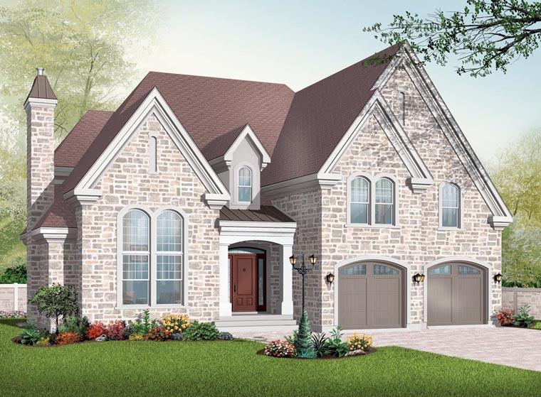 Victorian House Plan 65362 Elevation