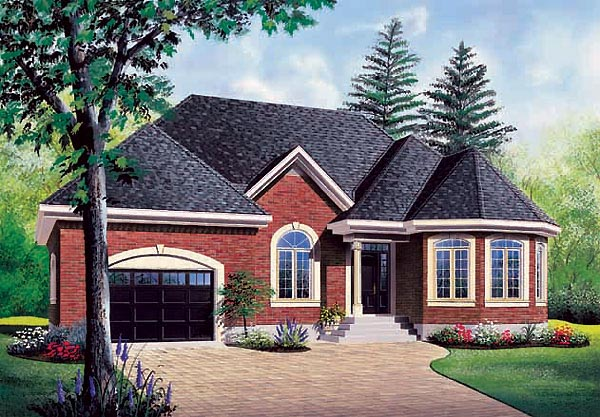 European Victorian House Plan 65374 Elevation