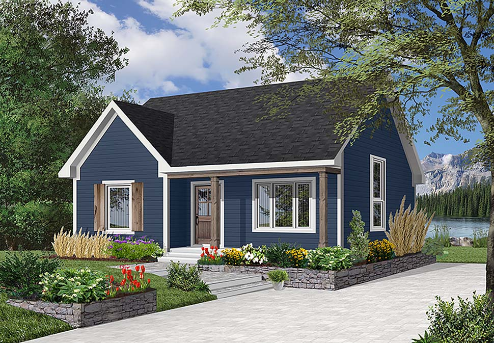 Ranch House Plan 65385 Elevation