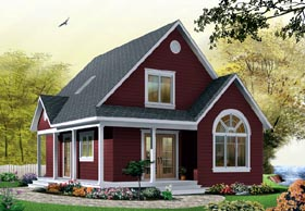 Country House Plan 65394 Elevation